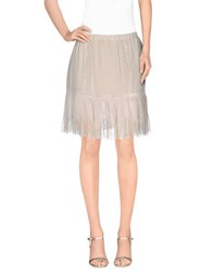Falcon And Bloom Skirts Knee Length Skirts Women Light Grey