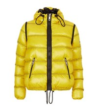 Burberry Down Puffer Jacket Female Yellow