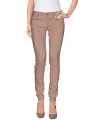 Cesare Paciotti 4Us Trousers Casual Trousers Women Skin Color