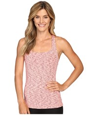 Lucy Fitness Fix Tank Top Rose Gold Spacedye Women's Sleeveless Pink