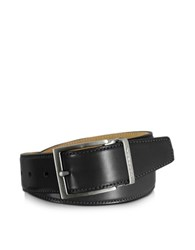Moreschi Eton Black Leather Belt