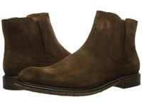 John Varvatos Sid Crepe Chelsea Antique Brown Men's Pull On Boots