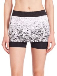 Koral Gemini Relaxed Fit Skort Pixelate Black