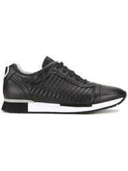 Love Moschino Ribbed Lateral Sneakers Black