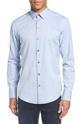Zachary Prell Men's Dobby Sport Shirt