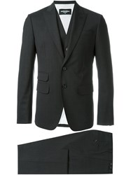 Dsquared2 Classic Three Piece Suit Grey