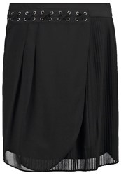Morgan Jicil Mini Skirt Noir Black