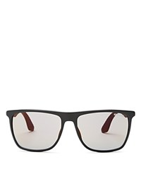 Carrera Flat Top Wayfarer Sunglasses Matte Black