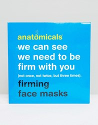 Anatomicals We Can See We Need To Be Firm With You Firming Face Mask X 3 Firming Face Mask Clear