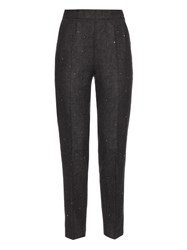 Muveil Embellished High Rise Trousers