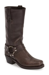 Women's Frye 'Harness 12R' Boot Smoke Leather