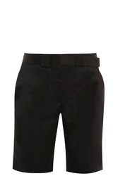 Victoria Beckham Wrap Belt Shorts Black