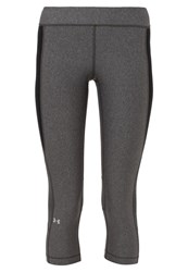 Under Armour Tights Grey Black Dark Gray
