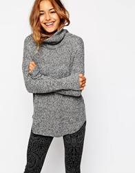 Abercrombie And Fitch Oversized Roll Neck Jumper