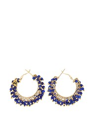 Rosantica By Michela Panero Carmen Quartz Earrings Blue Multi