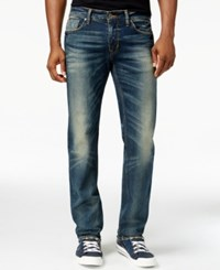 Guess Original Straight Fit Fuse Wash Jeans