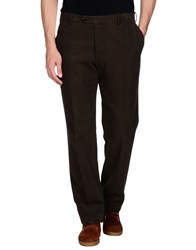 Pal Zileri Trousers Casual Trousers Men Dark Green