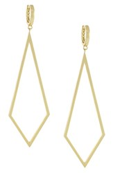 Women's Vince Camuto Diamond Shape Drop Earrings Goldt