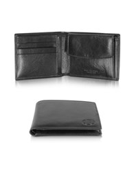 The Bridge Story Uomo Black Leather Wallet W Coin Pocket