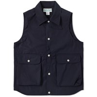 Sassafras Plant Hunter Vest Blue