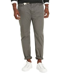 Polo Big And Tall Classic Fit Stretch Five Pocket Pants Grey