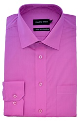 Double Two Long Sleeved Shirt Pink