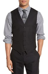 J.Crew Men's Trim Fit Solid Wool Vest