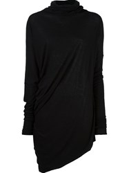 Isabel Benenato Roll Neck Jumper Black