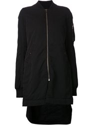 Rick Owens Drkshdw 'Vicious Flight' Jacket Black