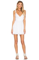Lucca Couture X Revolve Drop Front Dress White