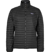 Patagonia Quilted Shell Down Jacket Black