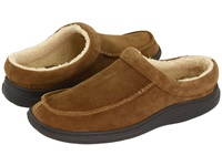 L.B. Evans Edmonton Chestnut Suede Men's Slippers Brown