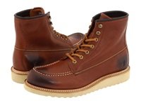 Frye Dakota Wedge Red Wood Full Grain Leather Men's Lace Up Boots Bronze