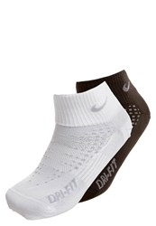 Nike Performance Anti Blister Sports Socks White Black