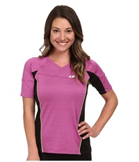 Louis Garneau Hto Tee Candy Purple Women's Workout Red