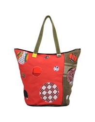 Carmina Campus Large Fabric Bags Red