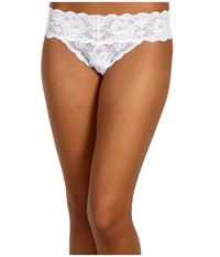Cosabella Never Say Never Bootie Thong White Women's Underwear