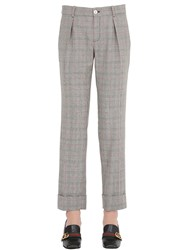 Gucci Plaid Wool Pants