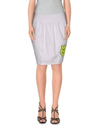 Love Moschino Skirts Mini Skirts Women White