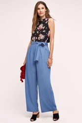 Anthropologie Sulis Wide Legs Blue