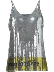 Paco Rabanne Metallic Tank Top