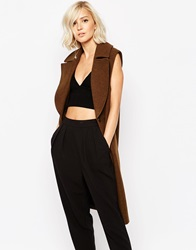 Gestuz Marlowe Sleeveless Coat Wren