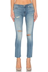 Hudson Jeans Shine Mid Rise Ankle Skinny Rescue Mission