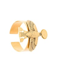 Givenchy Falcon Cuff Bracelet Yellow And Orange