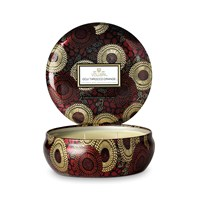 Voluspa Japonica Limited Edition 3 Wick Candle In Tin Goji And Tarrocco Orange
