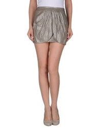 Guess Mini Skirts Dove Grey