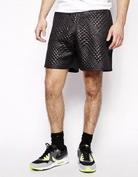 Blood Brother Quilted Shorts Black