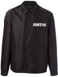 Alexander Wang Oakland Coach's Jacket Black