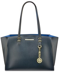Anne Klein Head To Toe Large Tote Navy