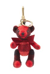 Burberry Shoes And Accessories Thomas Bear Cashmere Key Charm Red